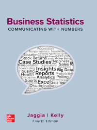 Business Statistics: Communicating with Numbers 4th Edition – PDF ebook*