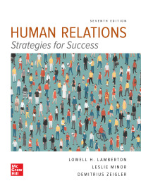 Human Relations 7th Edition by Lowell Lamberton – PDF ebook*