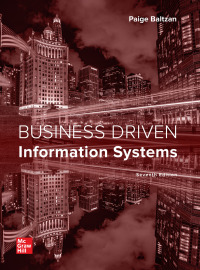 Business Driven Information Systems 7th Edition – PDF ebook*