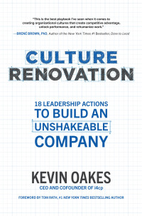 Culture Renovation: 18 Leadership Actions to Build an Unshakeable Company 1st Edition – PDF ebook*