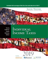 South-Western Federal Taxation 2019: Individual Income Taxes, 42nd Edition – PDF ebook*