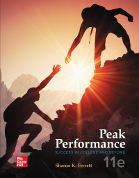 Peak Performance: Success in College and Beyond 11th Edition – PDF ebook*