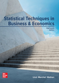 Statistical Techniques in Business and Economics 18th Edition – PDF ebook*