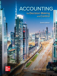 Accounting for Decision Making and Control 10th Edition – PDF ebook*