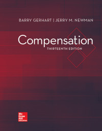 Compensation 13th Edition by Barry Gerhart – PDF ebook*