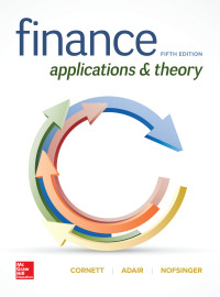 Finance: Applications and Theory 5th Edition – PDF ebook*