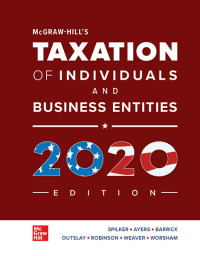 McGraw-Hill's Taxation of Individuals and Business Entities 2020 Edition 11th Edition – PDF ebook*