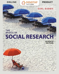 The Basics of Social Research, Enhanced Edition, Loose-Leaf Version, 7th Edition – PDF ebook*