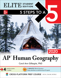5 Steps to a 5: AP Human Geography 2020 Elite Student Edition 1st Edition – PDF ebook*