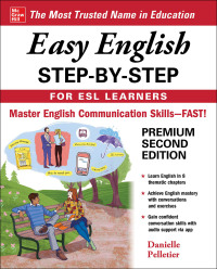 Easy English Step-by-Step for ESL Learners 2nd Edition – PDF ebook*