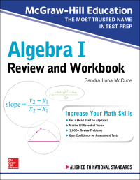 McGraw-Hill Education Algebra I Review and Workbook 1st Edition – PDF ebook*