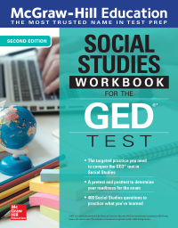 McGraw-Hill Education Social Studies Workbook for the GED Test 2nd Edition – PDF ebook*