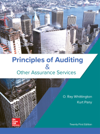 Principles of Auditing & Other Assurance Services 21st Edition – PDF ebook*