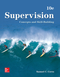 Supervision: Concepts and Skill-Building 10th Edition – PDF ebook*