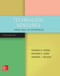 Technology Ventures: From Idea to Enterprise 5th Edition – PDF ebook*
