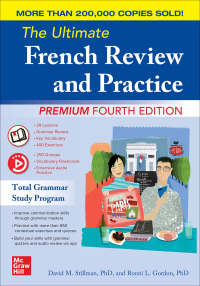 The Ultimate French Review and Practice, Premium Fourth Edition 4th Edition – PDF ebook*