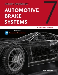 Today's Technician: Automotive Brake Systems, Classroom and Shop Manual Pre-Pack, 7th Edition – PDF ebook*