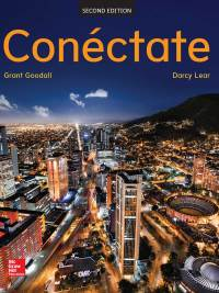Conéctate: Introductory Spanish 2nd Edition – PDF ebook*
