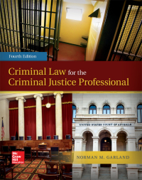 Criminal Law for the Criminal Justice Professional 4th Edition – PDF ebook*