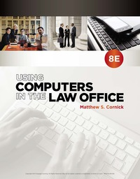Using Computers in the Law Office, 8th Edition – PDF ebook*