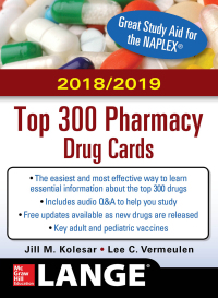 McGraw-Hill's 2018/2019 Top 300 Pharmacy Drug Cards 4th Edition – PDF ebook*
