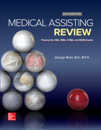 Medical Assisting Review: Passing The CMA, RMA, and CCMA Exams 6th Edition – PDF ebook*