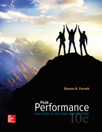 Peak Performance: Success in College and Beyond 10th Edition – PDF ebook*