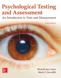Psychological Testing and Assessment 9th Edition – PDF ebook*
