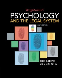 Wrightsman's Psychology and the Legal System, 9th Edition – PDF ebook*