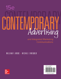 Contemporary Advertising 15th Edition by William Arens – PDF ebook*