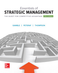 Essentials of Strategic Management: The Quest for Competitive Advantage 5th Edition – PDF ebook*