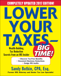 Lower Your Taxes – BIG TIME! 2017-2018 Wealth Building, Tax Reduction Secrets from an IRS Insider 7th Edition – PDF ebook*