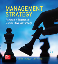 Management Strategy: Achieving Sustained Competitive Advantage 3rd Edition – PDF ebook*