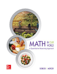 Math in Our World: A Quantitative Reasoning Approach 1st Edition – PDF ebook*