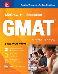 McGraw-Hill Education GMAT 11th Edition by Sandra Luna McCune; Shannon Reed – PDF ebook*