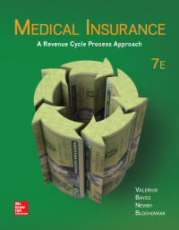 Medical Insurance: A Revenue Cycle Process Approach 7th Edition – PDF ebook*