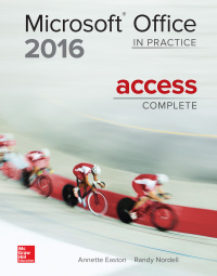 Microsoft Office Access 2016 Complete: In Practice 1st Edition – PDF ebook*