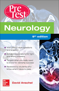 Neurology PreTest Self-Assessment And Review 9th Edition – PDF ebook*