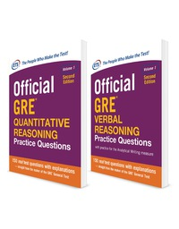 Official GRE Value Combo 1st Edition by Educational Testing Service – PDF ebook*
