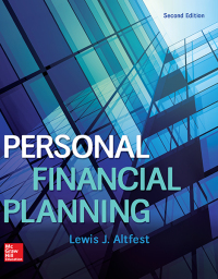 Personal Financial Planning 2nd Edition by Lewis Altfest – PDF ebook*