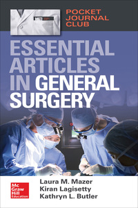 Pocket Journal Club: Essential Articles in General Surgery 1st Edition – PDF ebook*