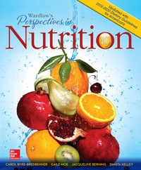 Wardlaws Perspectives in Nutrition Updated with 2015 2020 Dietary Guidelines for Americans 10th Edition – PDF ebook*