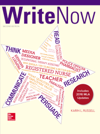 Write Now 2e MLA 2016 UPDATE 2nd Edition by Karin Russell – PDF ebook*