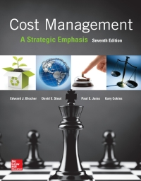 Cost Management: A Strategic Emphasis 7th Edition – PDF ebook*