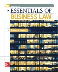 Essentials of Business Law 9th Edition by Anthony Liuzzo – PDF ebook*