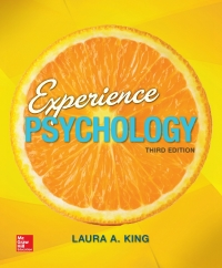 Experience Psychology 3rd Edition by Laura King – PDF ebook*