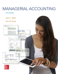 Managerial Accounting 5th Edition by John Wild – PDF ebook*