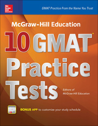 McGraw-Hill Education 10 GMAT Practice Tests 1st Edition – PDF ebook*