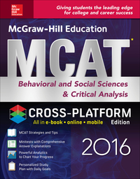 McGraw-Hill Education MCAT Behavioral and Social Sciences & Critical Analysis 2016 Cross-Platform Edition 2nd Edition – PDF ebook*