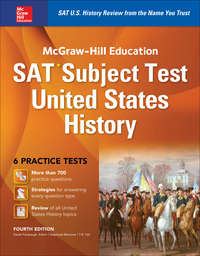McGraw-Hill Education SAT Subject Test US History 4th Edition – PDF ebook*
